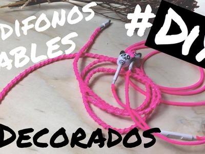 #DIY-AUDIFONOS DECORADOS.FONE DE OUVIDO DECORADO - Amarga Dulce Vida