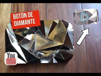 DIY BOTÓN DE DIAMANTE