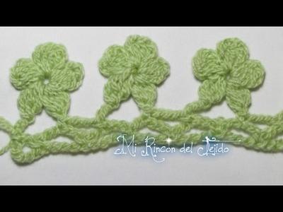Punto tejido a crochet #11 paso a paso