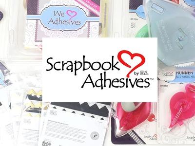 Scrapbook adhesives  - adhesivos para scrapbooking