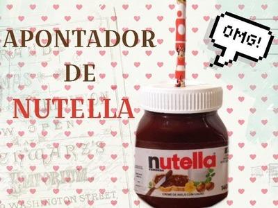 DIY: Apontador de Nutella