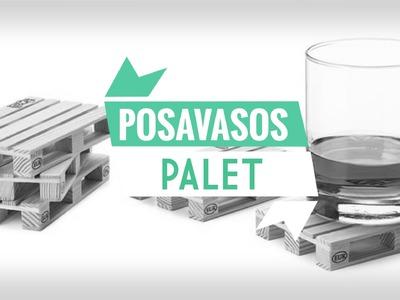 DIY CON PALITOS DE HELADO - POSAVASOS PALET