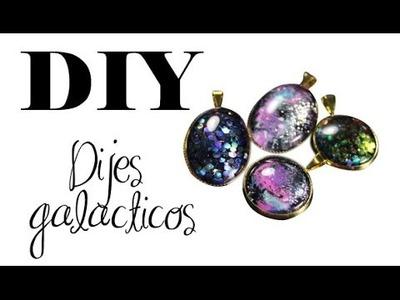 DIY ♥ Dijes galacticos ♥ JOYERÍA MÁGICA