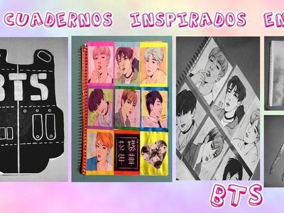 DIY KPOP BTS | CUADERNOS INSPIRADOS EN BTS |