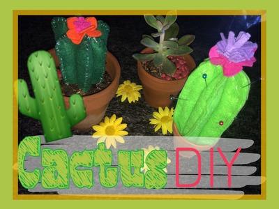HAZ LOS CACTUS MAS LINDOS DEL MUNDO!DIY Best cactus ever