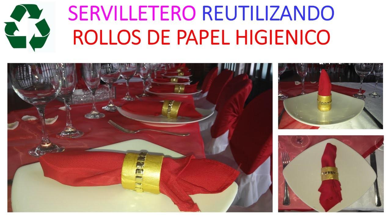 MANUALIDADES CON ROLLOS DE PAPEL HIGIENICO 2. DIY RECYCLE TOILET PAPER ROLLS 2