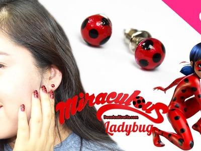 Miraculous LadyBug Aretes Catarina de fantasia -  DecoAndCrafts