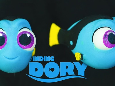 "BABY DORY ""TUTORIAL"" ✔POLYMER CLAY"