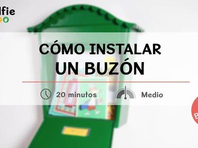 Cómo instalar un buzón y fijaciones para accesorios de exterior · Handfie DIY