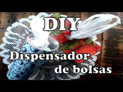 DIY:Dispensador de bolsas reciclado