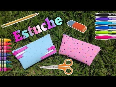 DIY Estuche. lapicera de foamy para regreso a clases - Ingenio KD