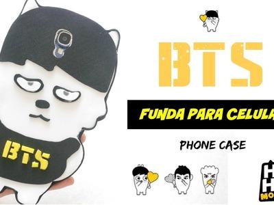 DIY K-POP : BTS Funda para celular