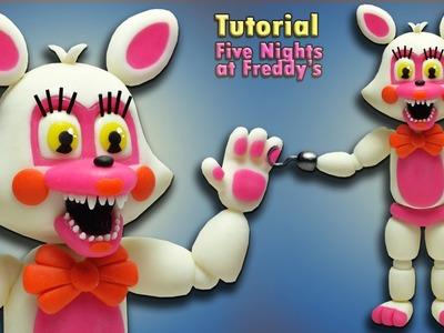 "FNaF World ★ Adventure Funtime Foxy. Toy Foxy ""Tutorial"" - Polymer clay ★ Porcelana fria ★(REUPLOAD)"