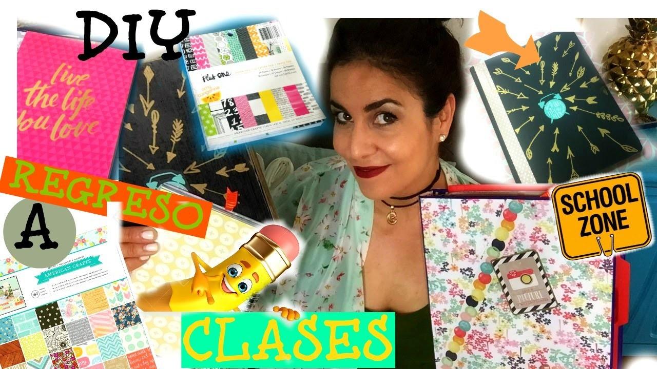 REGRESO A CLASES | DIY CARPETAS Y MAS!  ♥ SORTEO SORTEO (cerrado!)