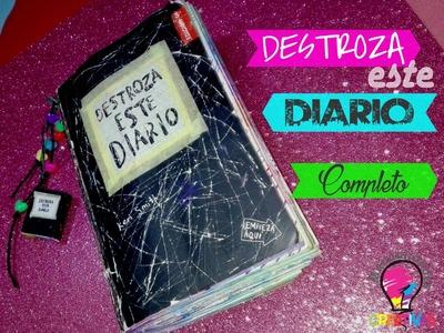 Destroza este diario Completo l Manualidades Creativas NC