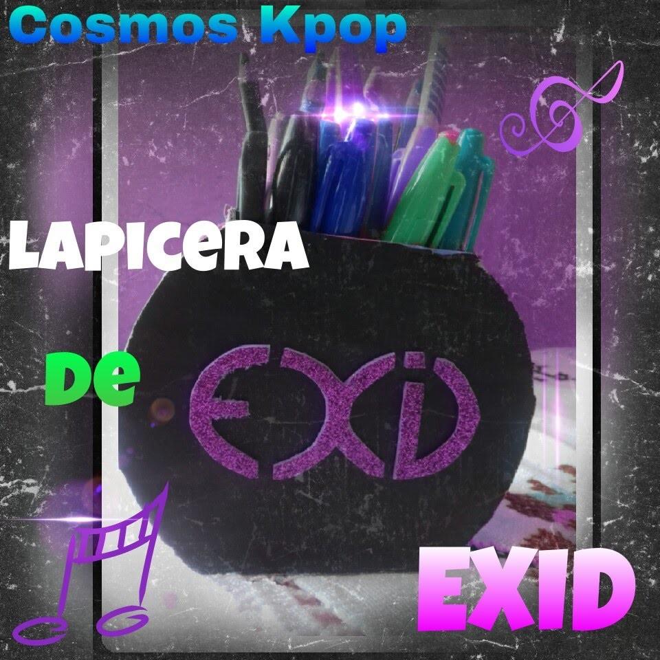 Diy Lapicera Exid Manualidades Kpop Organizador Organizador Kpop