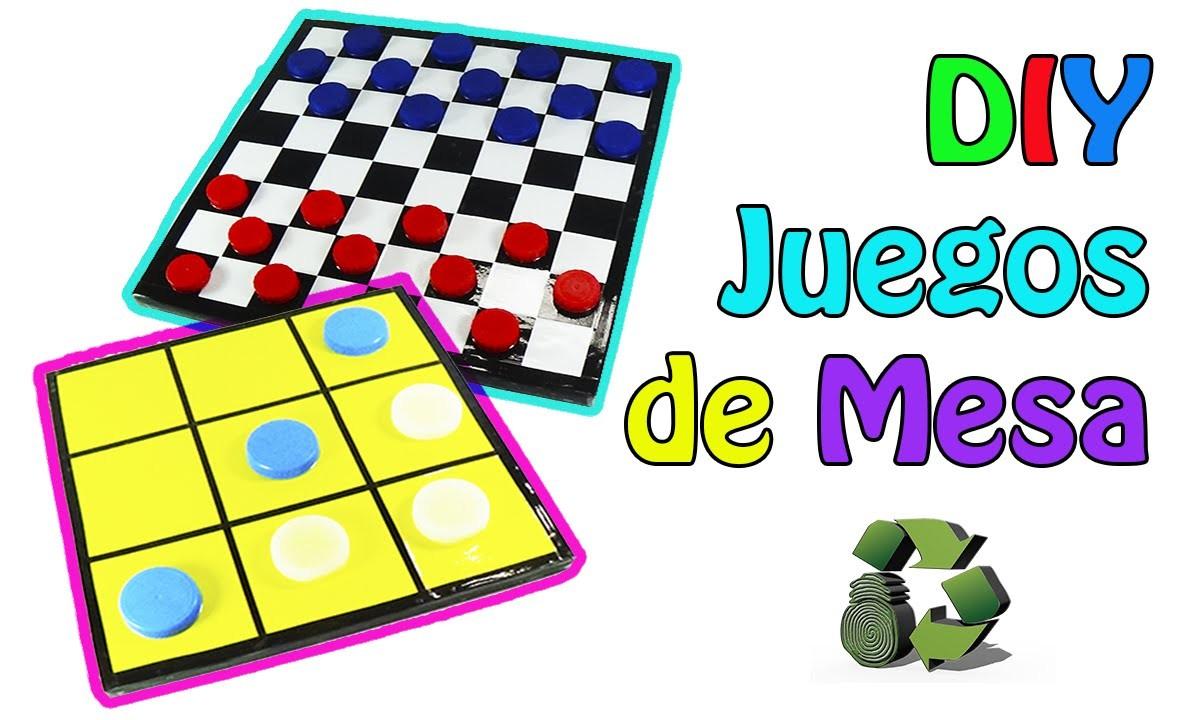 219. Manualidades: DIY Juegos de mesa 2 en 1 (Reciclaje) Ecobrisa