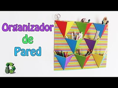 221. Manualidades: Organizador de pared (Reciclaje) Ecobrisa
