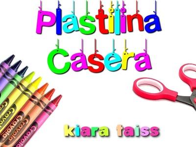 Como preparar plastilina casera o pasta para moldear: Manualidades para niños