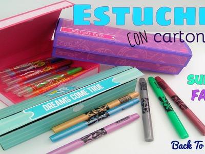 DIY - Lapiceras de Cartón - 2 - Regreso a clases - Back To School - Manualidades