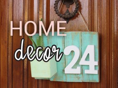 Home decor | DIY para la entrada de casa