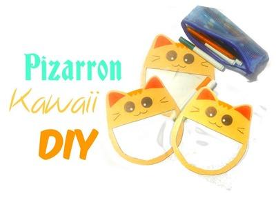 ✄ Pizarra en forma de gato regreso a clases | Kawaii | Manualidades Fáciles