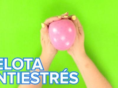 Cómo hacer una pelota antiestrés con bolas Orbeez | Manualidades infantiles