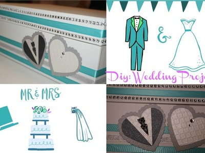 DIY: Marriage Project! ( Invitacion para boda y caja )