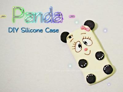 DIY Panda Silicone Case. Manualidades Fáciles y Rápidas Carcasa para Celular