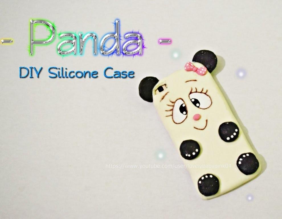 Diy Panda Silicone Case Manualidades Faciles Y Rapidas Carcasa Para - Manualidades-rapidas