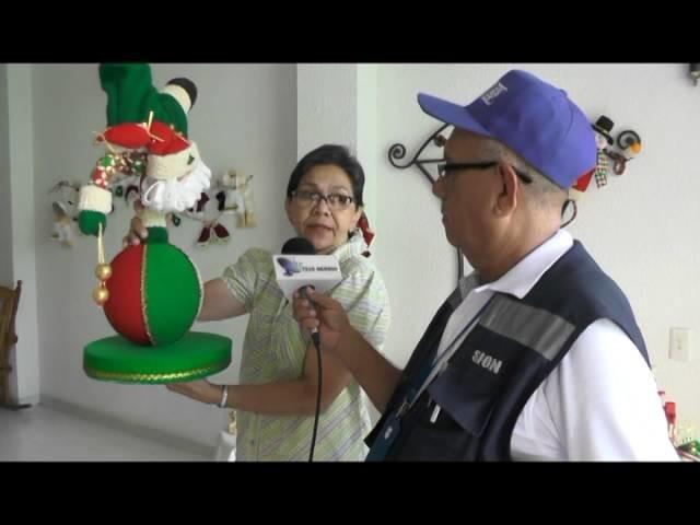 PROGRAMASE PARA HACER CURSO DE MANUALIDADES  NAVIDEÑAS