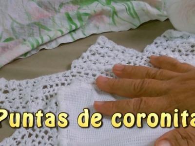 Puntas de coronita |Creaciones y manualidades angeles