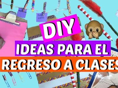 REGRESO A CLASES 2016 DECORA TUS ÚTILES ESCOLARES ❤ DIY IDEAS MANUALIDADES BACK TO SCHOOL