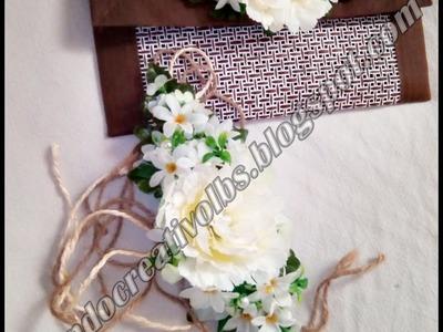 DIY: cinturón de flores *042*