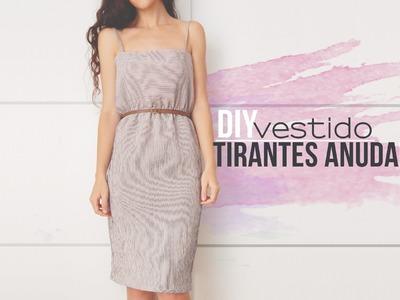 DIY EASY SUMMER DRESS | Vestido fácil de hacer