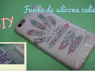 DIY Funda para móvil de silicona caliente #2 fundas caseras  «Coolcrafts»