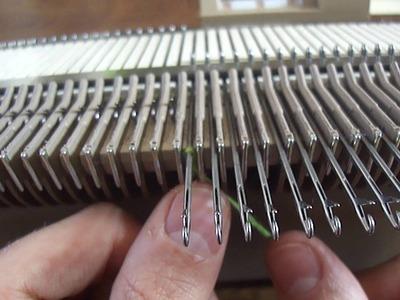 Tejido a Maquina: Enhebrado manual de agujas - para  maquinas Knittax
