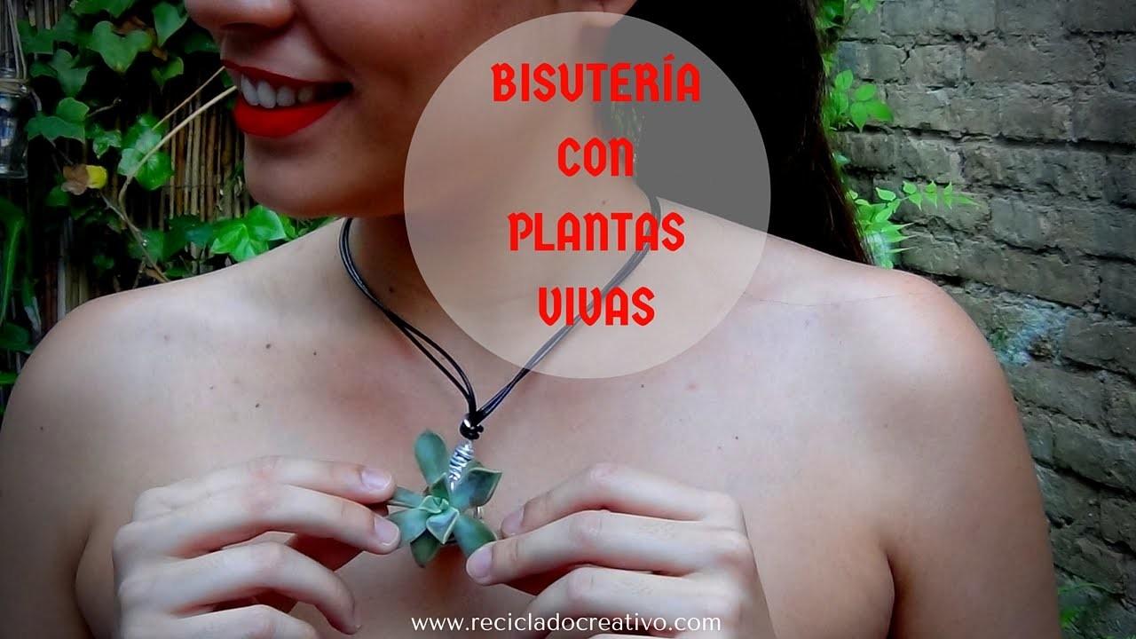Bisutería DIY con plantas crasas o suculentas y tapones de corcho