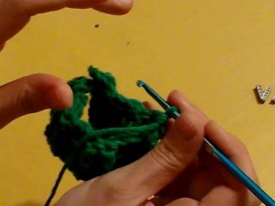 Cómo hacer disminuciones en punto elástico de crochet