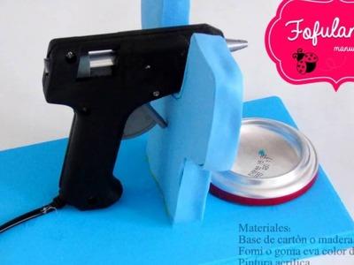 DIY soporte para pistola de silicon