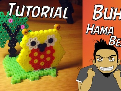 Tutorial ★ Buho Hama.Perler Beads