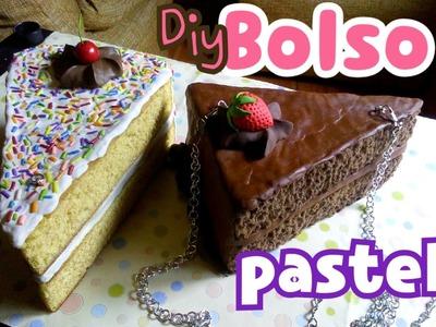 Diy Bolso o monedero pastel♻ cake bag fomi moldeable