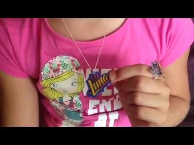 DIY - Collar de Soy Luna Hecho con Plástico Magic