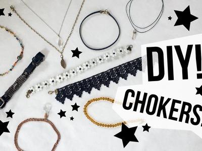 DIY! Haz tus propios chokers!