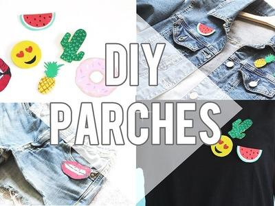 DIY: PARCHES SUPER FÁCILES PARA CAMISETAS,CHAQUETAS,SHORTS.  | Sonia Ruiz