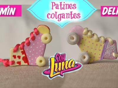 DIY- SOY LUNA- PATINES JAZMÍN-DELFINA.COLGANTES