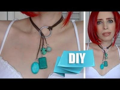 Como Hacer un Collar Lariat - DIY Fácil