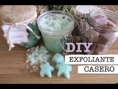 DIY | Como hacer exfoliante casero | homemade body scrub | IDEA REGALO PERFECTO!