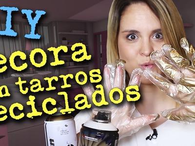 DIY: Decora con tarros reciclados