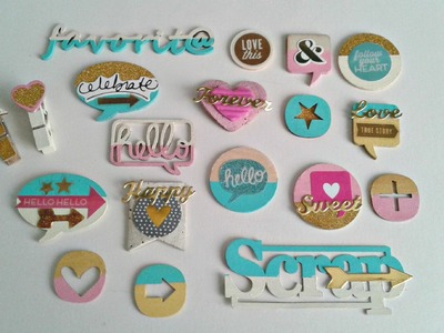 DIY SCRAPBOOK EMBELLISHMENTS 2